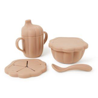 Assiette et cuillère en silicone